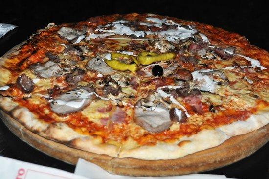 volte: Pizza Jumbo