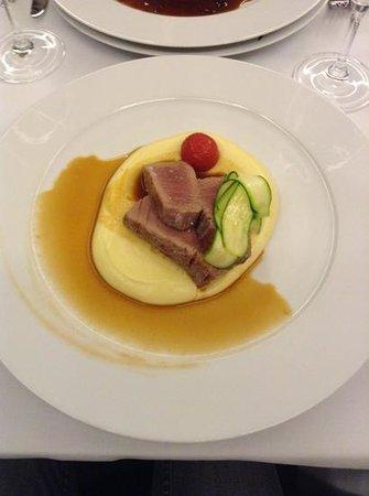Coda Restaurant : Tuna with potato.