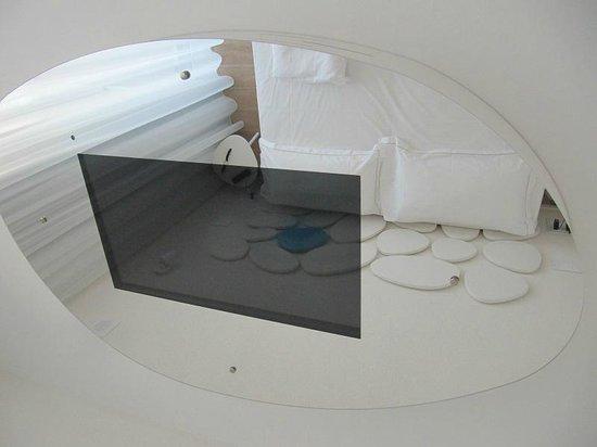 Marina Verde Resort : Sopra il letto..