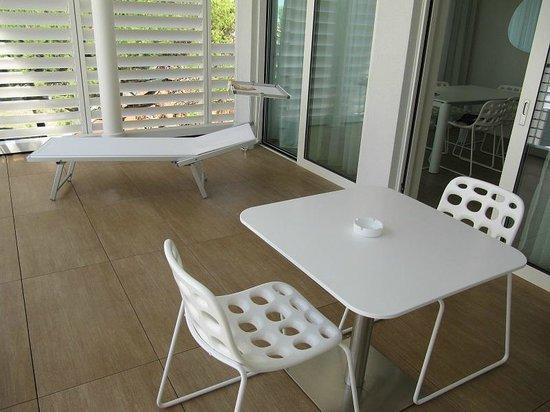 Marina Verde Resort: Terrazzo