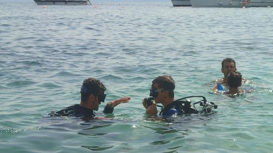 Cetaria Diving Center : luca e marco