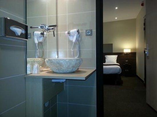 Hotel Vauban: salle de bain