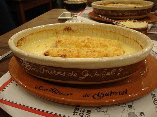 Las Pastas de Gabriel: Rondelli Presunto e Queijo