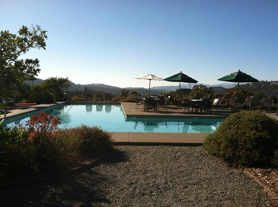 Mayacamas Ranch: The wonderful salt water pool