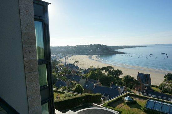 L'Agapa Hotel SPA Nuxe : vue de la chambre