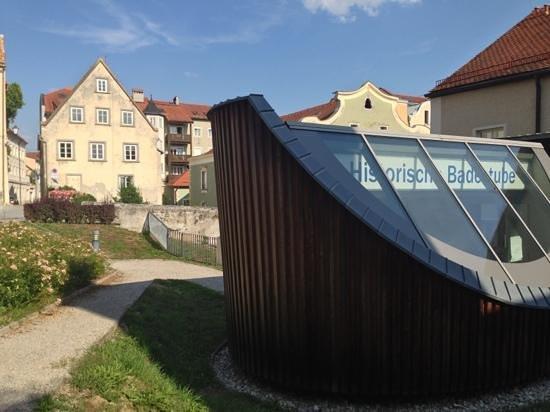 Vorderbad-Mittelalterliche Badestube: Vorderbad