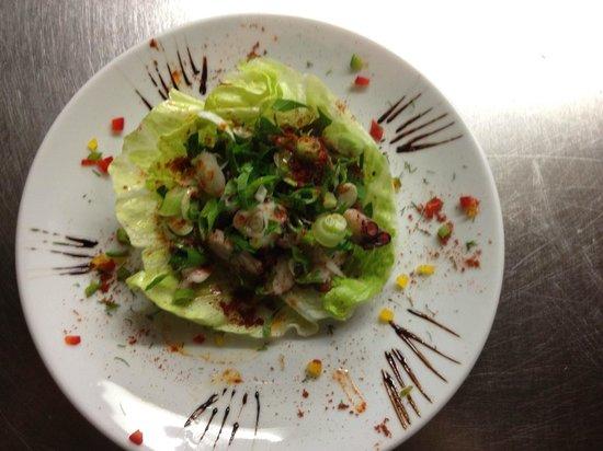 Ephesus Mediterranean Grill & Meze Bar: octopus salad