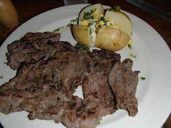 Del Sur Argentina Empanadas & Grill: Skirt Steak