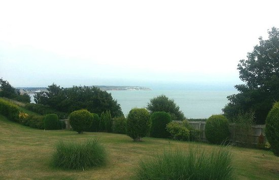 The Overstrand Hotel: View from the back garden