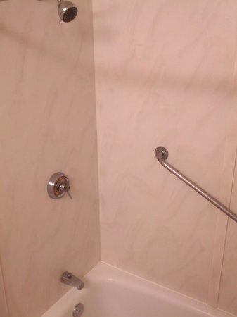 Howard Johnson Hotel - Toms River: Shower