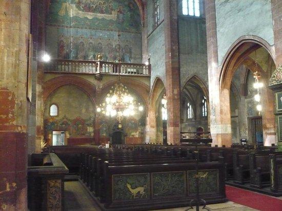 Église protestante Saint-Pierre-le-Jeune : Eglise protestante Saint Pierre le Jeune