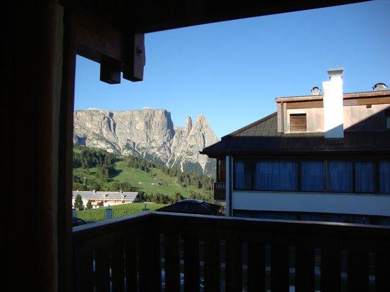 Hotel Bellavista: la vista dal terrazzo della camera