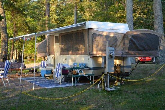 Weaver's Resort & Campground: Lake Campsite