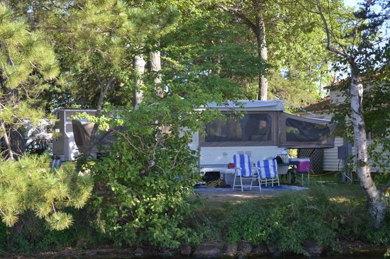 Weaver's Resort & Campground : Lake Campsite