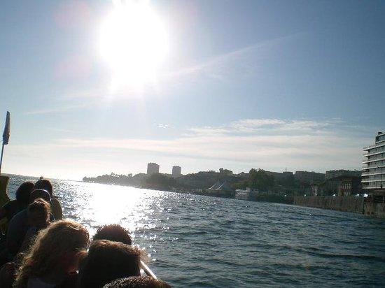 Ibis Porto Gaia: Vista sobre o Rio Douro, no Passeio de barco