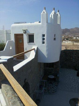 Alexandros Mykonos: Appartamento dall'esterno