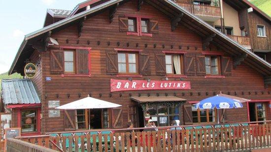 Hôtel Les Lutins : bar