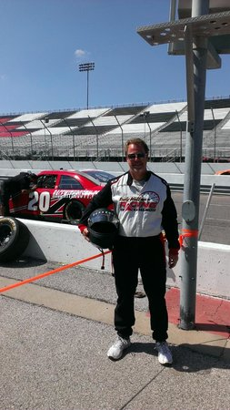 Rusty Wallace Racing Experience: Full jumpsuit only required for drivers.