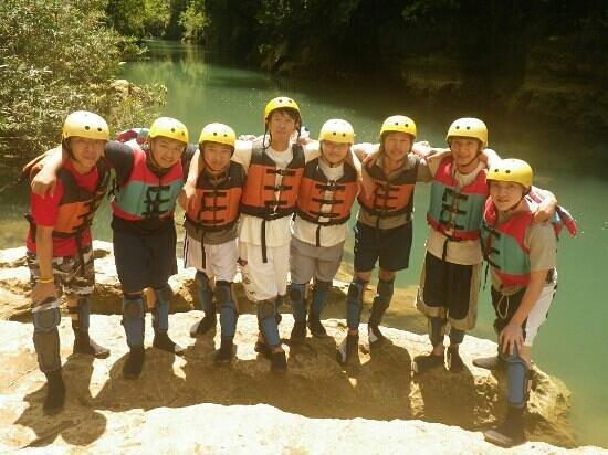 Green Canyon: Body rafting