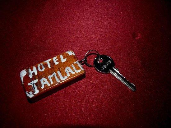 Hotel Tamlalte: La llave