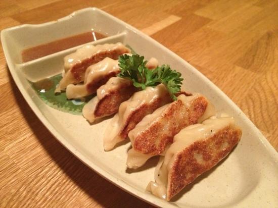 Sushi Nishiki: pork dumpling