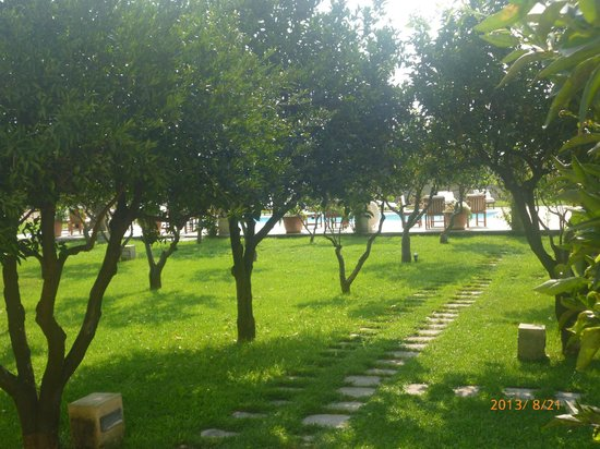 Li Campi Restaurant & Resort : parco-piscina