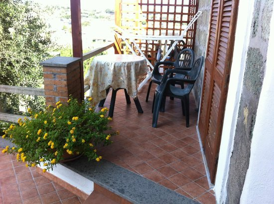 Villa La Cesa : terrazzino camera