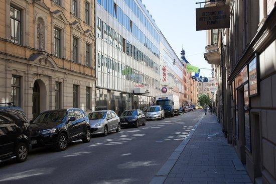 Scandic Norra Bantorget: Вид на отель