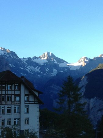 Sunstar Alpine Hotel Wengen: From our balcony