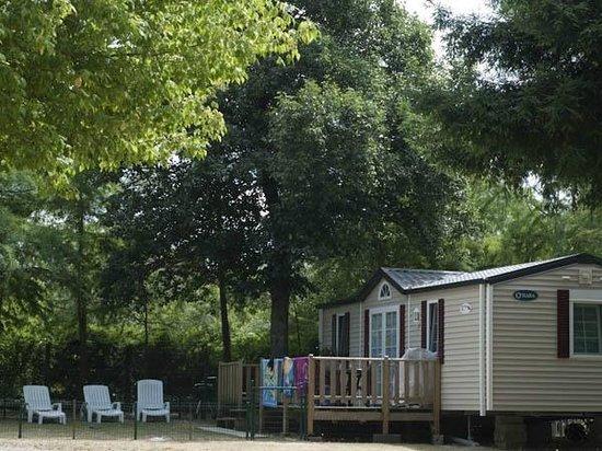 Sarthe, Francia: Mobil-Home