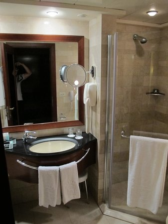Dan Tel Aviv Hotel: executive room bathroom
