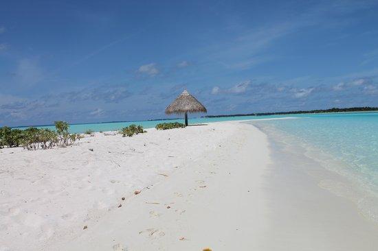 Sun Island Resort and Spa: Lingua di sabbia