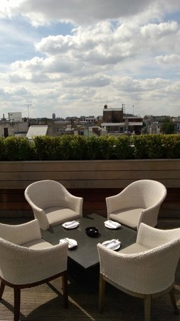 Aqua Nueva: View from the terrace...