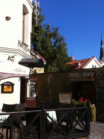 Hotel Imperial: The hotel and the beer garden