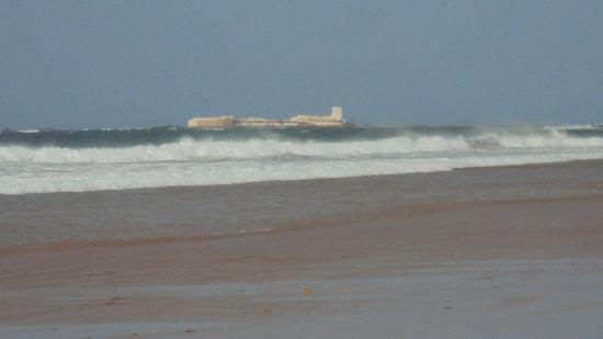 Playa de la Barrosa: PLAYA E SANCTI PETRI