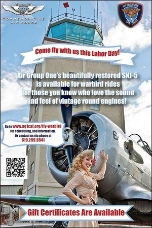 Air Group One - Commemorative Air Force Museum: Fly a Warbird!