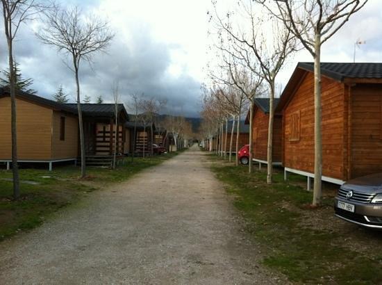Camping Caravaning Bungalow Park El Escorial : 1 enero 2013