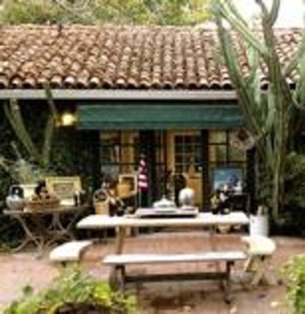 Ojai, Califórnia: Outside tasting at Regalo Olive Oil Inc.