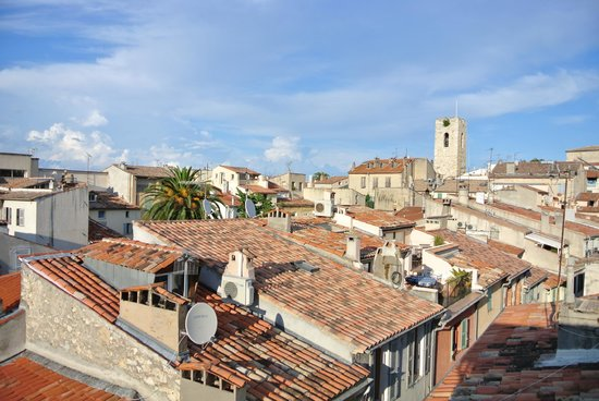 Rue Sade B&B : View from the roof terrace