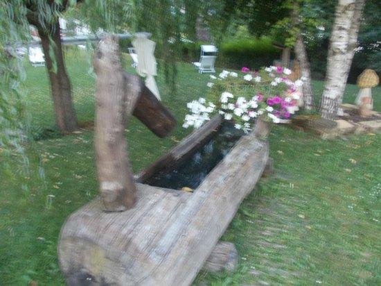 Hotel Latemar: giardino
