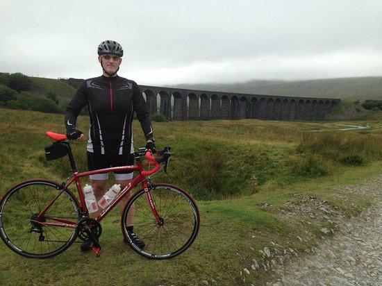Ribblehead Viaduct: Me at Ribbleshead Viaduct