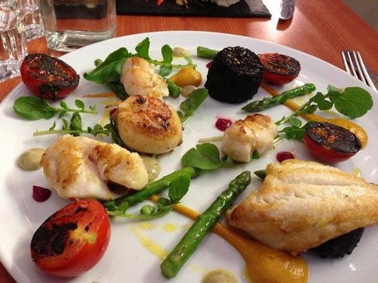 The Vintage Kitchen: the seafood special with Clonakilty black pudding