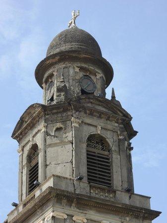Antigua Catedral de Managua: Torre