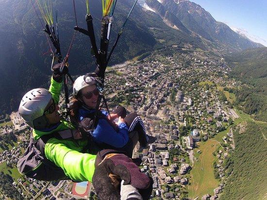 Fly Chamonix - Tandem Paragliding: 2013 Holiday