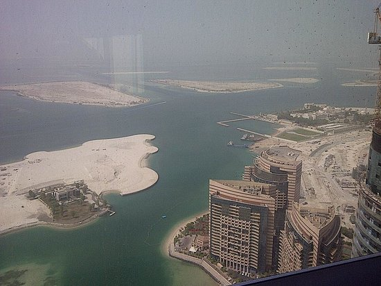 Jumeirah at Etihad Towers: View room 58th floor