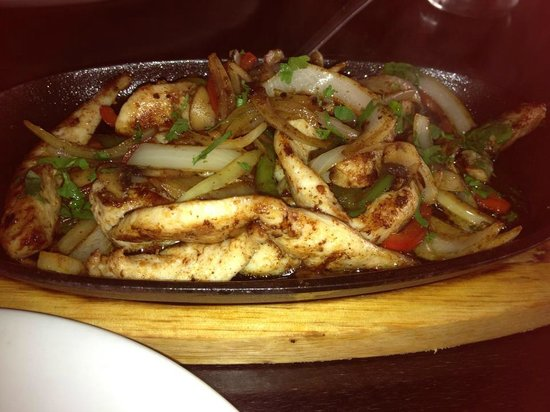 Savina : wonderful tasty chicken fajitas!