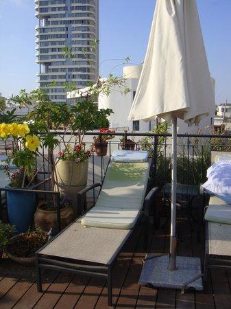 Center Chic Hotel Tel Aviv - an Atlas Boutique Hotel : Il terrazzo (1)