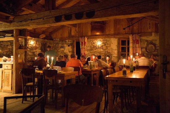 Restaurant la Bergerie: Repas au chandelles