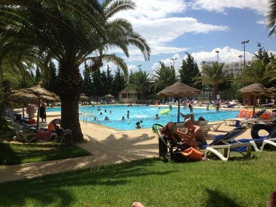 Hotel Manar: Quiet pool