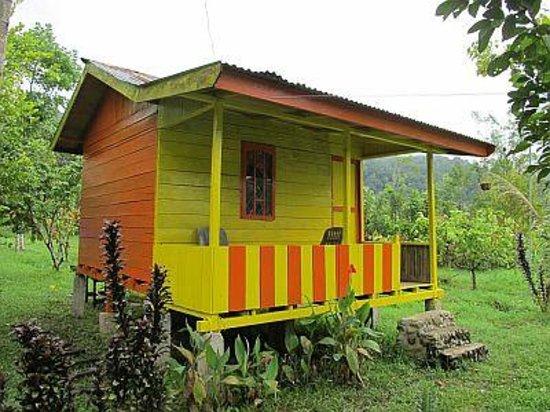 Bungalow en bois de friendship guesthouse